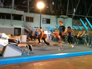 Fitness Court in action!