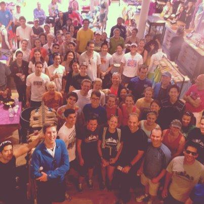 Post Race Celebration 2012